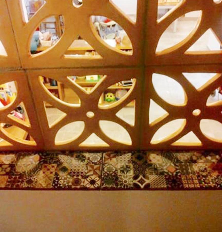 משרביות קרמיקה לעיצוב והצללה של הבית