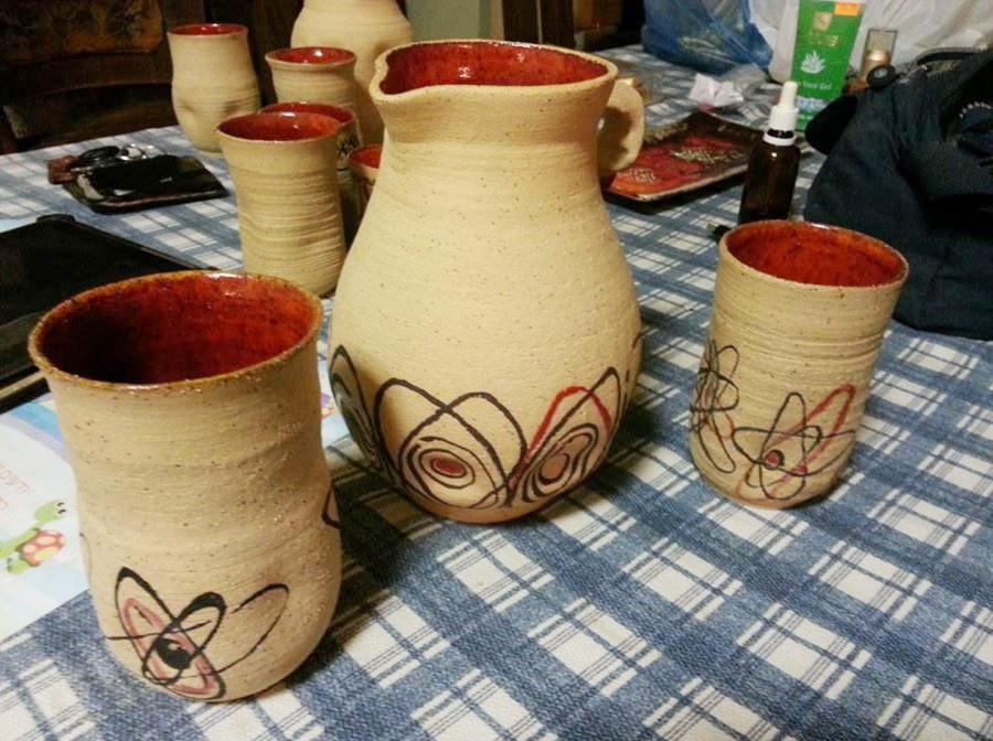 סדנת קרמיקה בדרום - תוצרי תלמידים, סטודיו חמרא