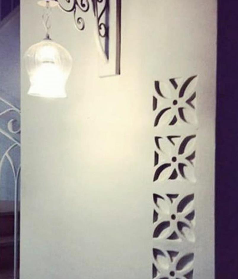 משרביות דקורטיביות מקרמיקה לקיר מעוצב