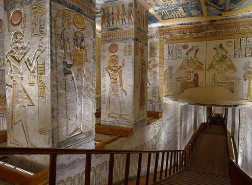 Tours virtuais permitem passear por monumentos do Egito Antigo