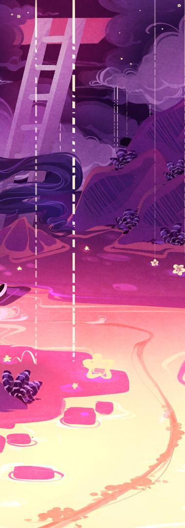 Star Rain Desert