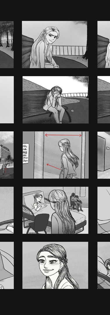 Animated Short Film Storyboard Template