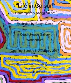 "Robyn Davis - ""Life in Colour"""