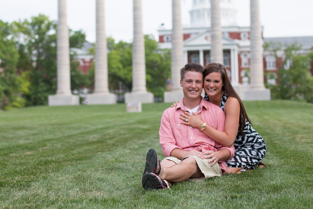 Proposal photography in Columbia, MO | KatFour Photo