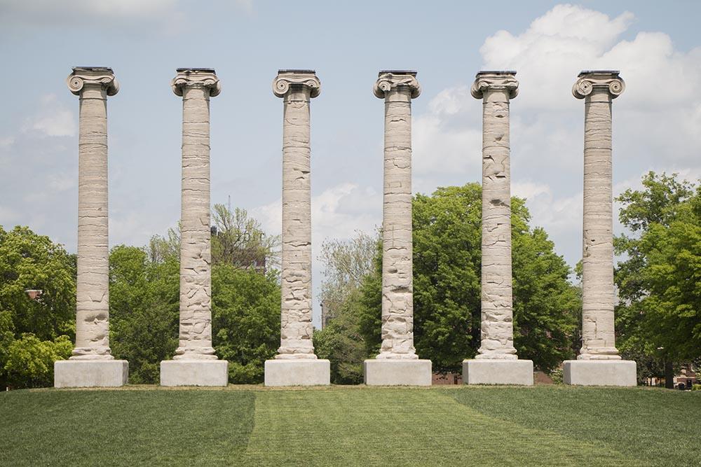 Mizzou Columns | Fine Art