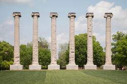 Mizzou Columns   Fine Art