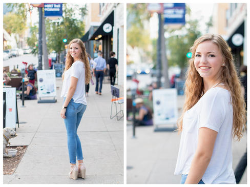 Columbia MO Senior Portraits