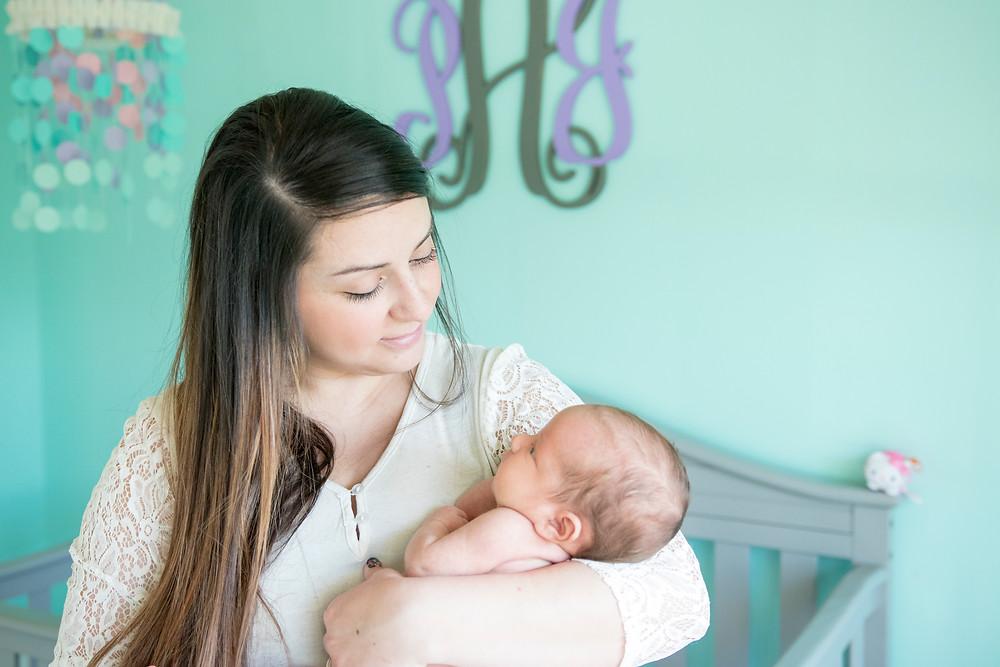 Newborn At Home Photography Columbia MO | KatFour Photo