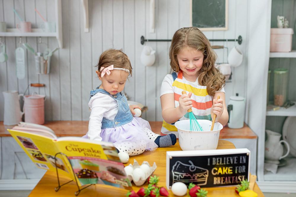 KatFour Photo Studio Photography | Little Chef Sessions | Kids Photography Studio Sessions in Columbia MO