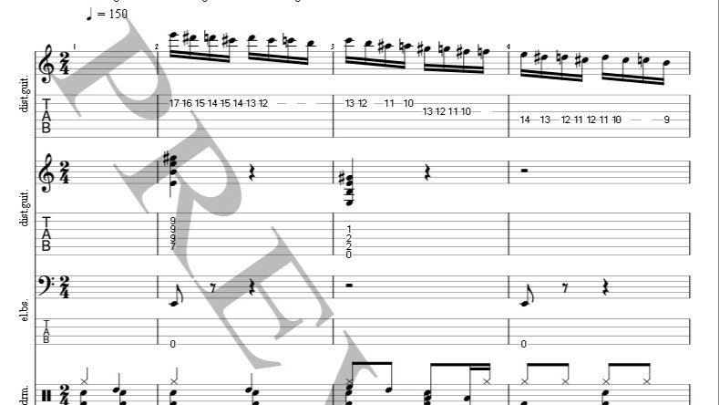 Flight Of The Bumble Bee Full Score