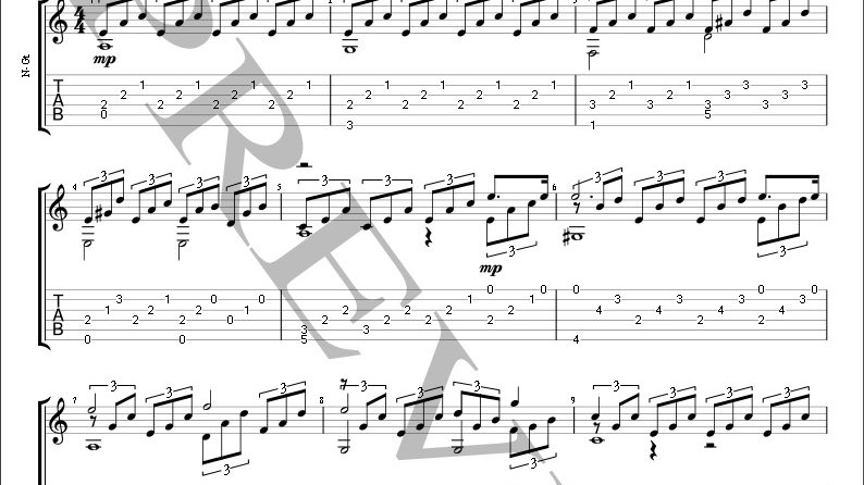 Moonlight Sonata 1st Movement