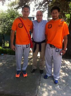 Con unos de los master de la psicología del deporte Dr. Buceta