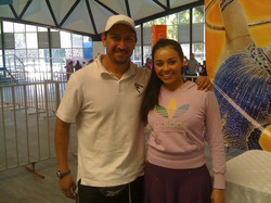 Eliminatorias Gimnasia Rítmica con la seleccionada nacional Ruth Castillo