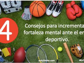 Consejos para incrementa la fortaleza mental ante el error deportivo.