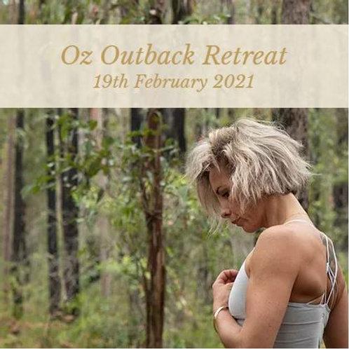 Oz Outback Retreat - 19th Feb 2021