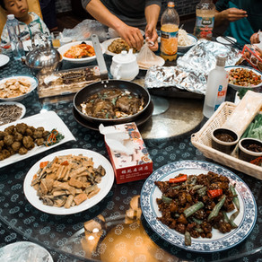 Trying traditional authentic Chinese food Day 5 + Ellie's birthday