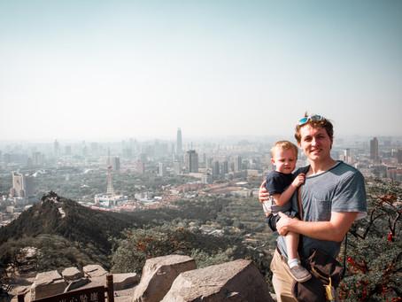 Travel to Jinan, China. The Thousand Buddha Mountain. Day 1