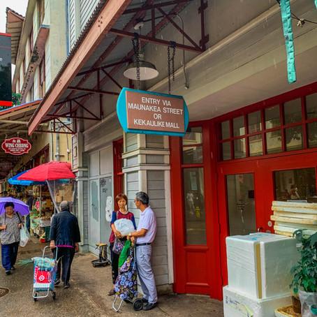 Chinatown in Honolulu