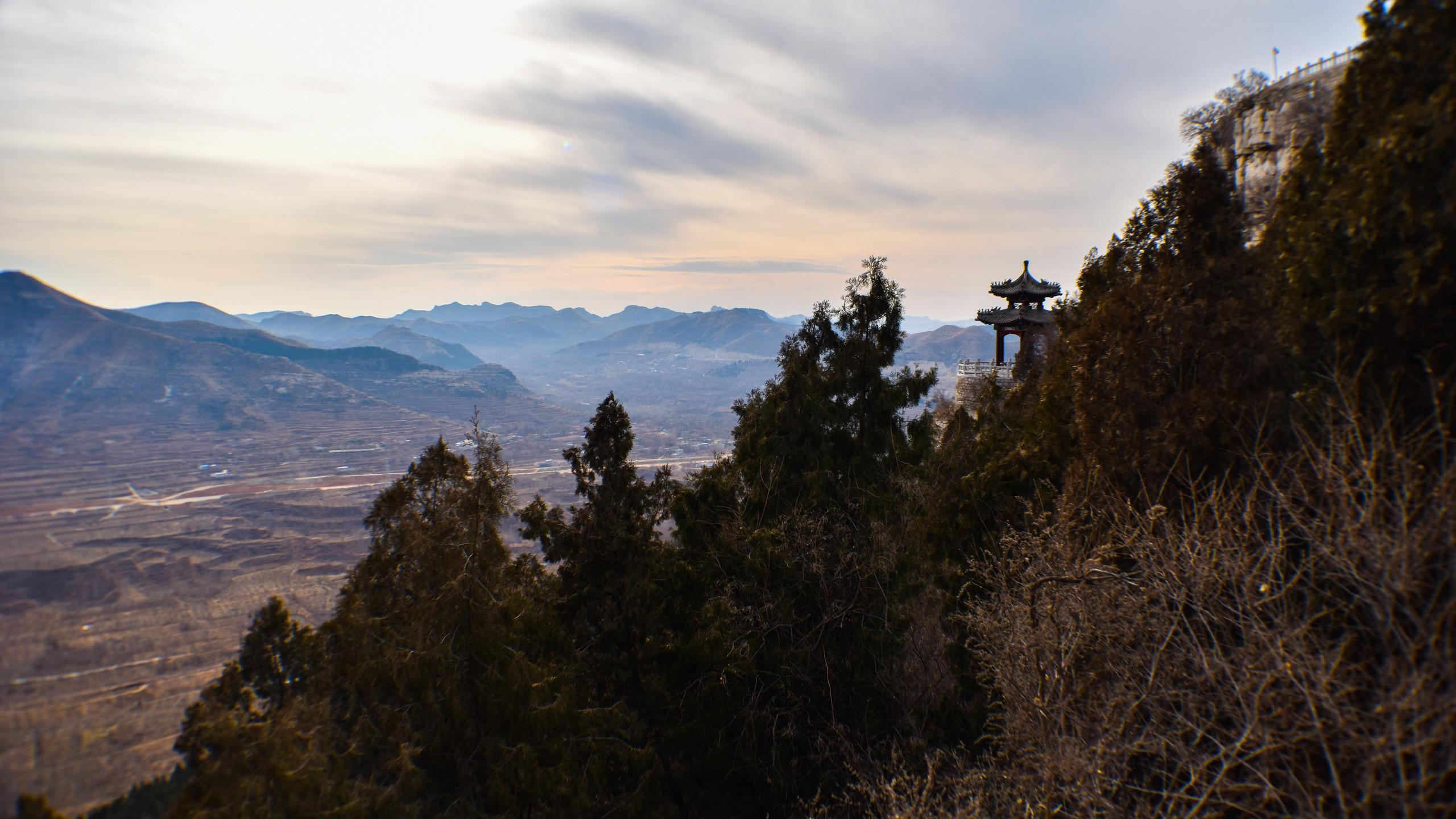 pavillion view