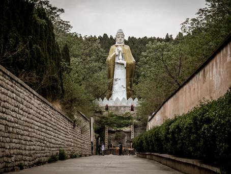 Travel to Jinan, China. Thousand Buddha Cave. Day 2
