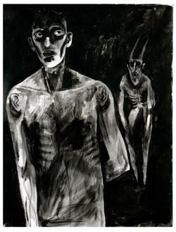 Acrylic on paper 2016