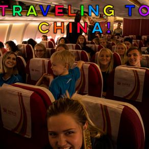 Traveling to China!