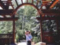Liz and Ellie Arch
