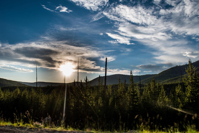 Yellowstone-Sun