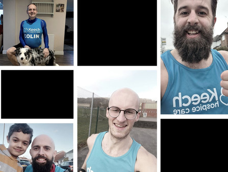 The Moore's March Challenge is Completed! - Over £16,000 Raised So Far!