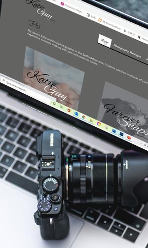 Katie Guy Photography Website & Branding