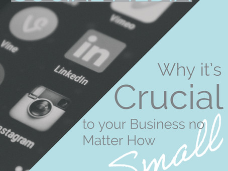 Social Media - Reasons Why it's Crucial to your Business no Matter How Small