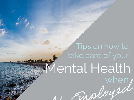 How to Take Care of your Mental Health as a Business Owner or Self-Employed
