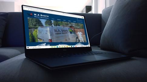 MA Beare Decorators Website