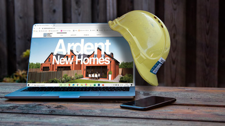Ardent New Homes Website