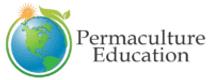 Logo-PermacultureEducation-Julia-Globe-w
