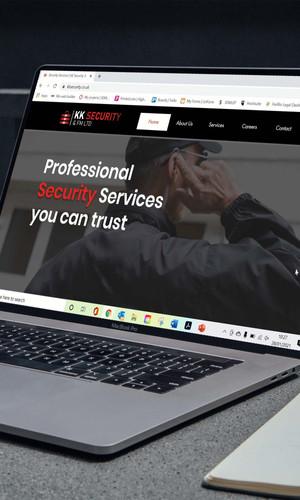 KK Security Website & Digital Marketing