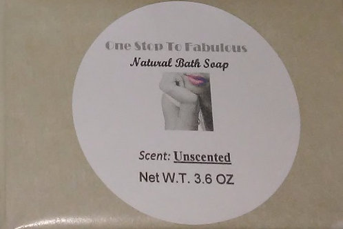 Organic Unscented Bar Bath Soap
