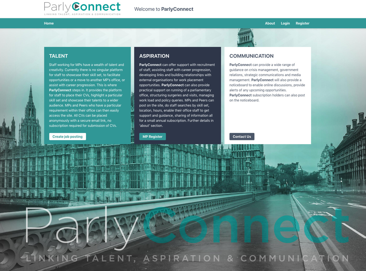 ParlyConnect Website
