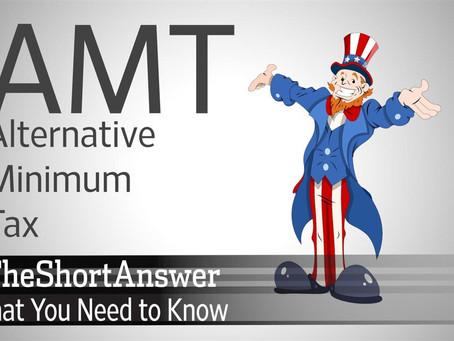 Closing with Alternative Minimum Tax Pt. 6 of 6