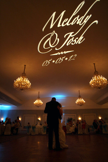 Gobo projection