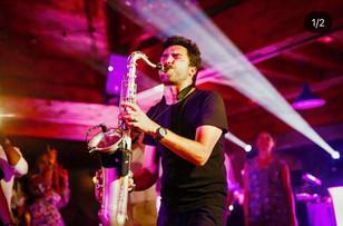 soirée d'entreprise saxophoniste
