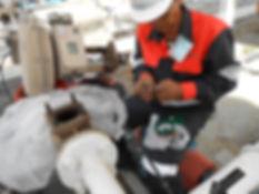 Vapour recovery unit service