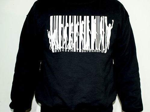 Barcoded sweatshirt