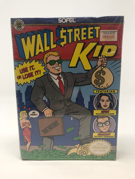 Retro Video Game of the Day: Wall Street Kid