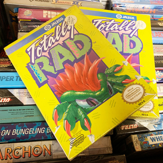 Retro Video Game of the Day: Totally Rad