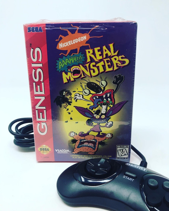 Retro Video Game of the Day: Aaahh!!! Real Monsters