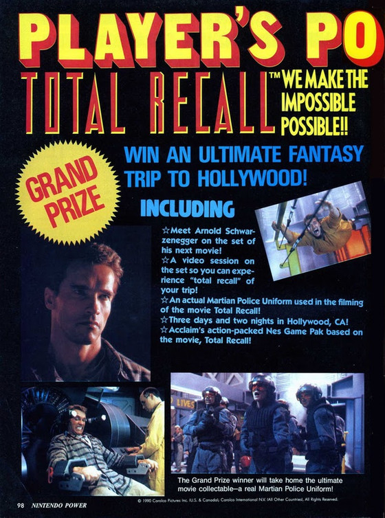 Retro Video Game of the Day: Total Recall