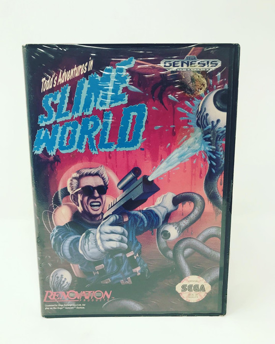 Retro Video Game of the Day: Todd's Adventures In Slime World