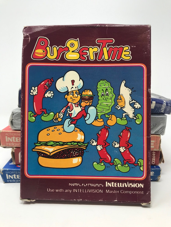 Retro Video Game of the Day: BurgerTime