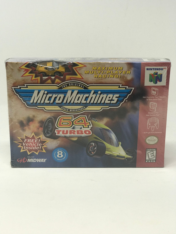 Retro Video Game of the Day: Micro Machines 64 Turbo